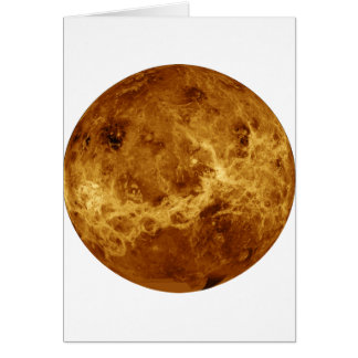 惑星の金星のレーダー版(太陽系) ~ カード
