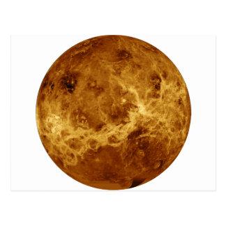 惑星の金星のレーダー版(太陽系) ~ ポストカード