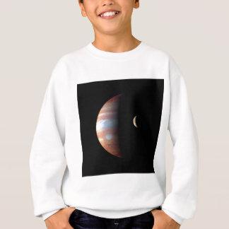 惑星ジュピターおよび火山月IO (宇宙)の~ スウェットシャツ