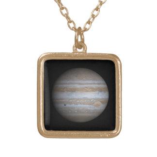 惑星ジュピター ゴールドプレートネックレス
