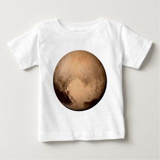 惑星プルート-ハートを持って下さい! (太陽系の) ~ ベビーTシャツ