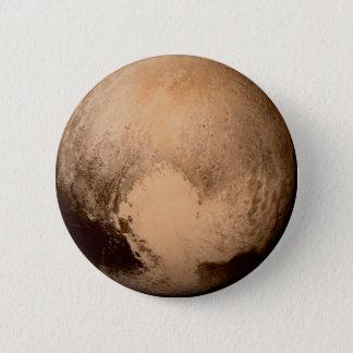 惑星プルート-ハートを持って下さい! (太陽系の) ~ 5.7CM 丸型バッジ