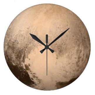 惑星プルート ラージ壁時計