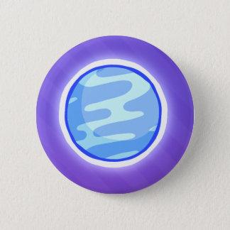 惑星ボタン 5.7CM 丸型バッジ