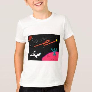 惑星力はワイシャツをからかいます Tシャツ