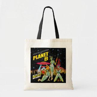 惑星8からの宇宙のひよこ トートバッグ