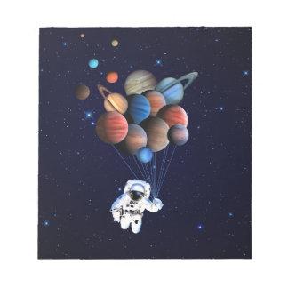 惑星 ノートパッド