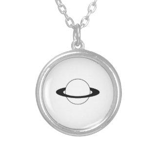 惑星 土星 リングや輪 ペンダント