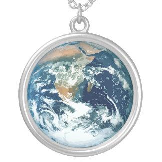 惑星 地球 パーソナライズネックレス