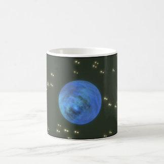 惑星。 (惑星; 宇宙; 星; blur_Space場面 コーヒーマグカップ