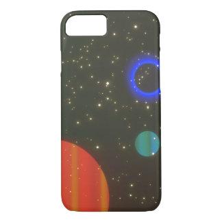 惑星。 (惑星; 宇宙; stars_Space場面 iPhone 8/7ケース