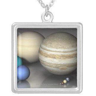 惑星 2 オリジナルネックレス