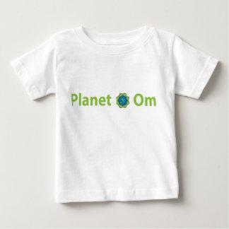 惑星OmのTシャツ ベビーTシャツ