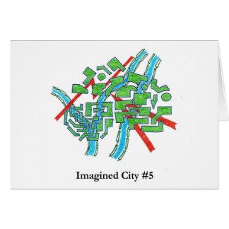 想像された都市#5 カード