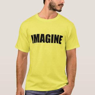 想像して下さい Tシャツ