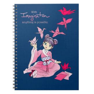 想像のノート ノートブック