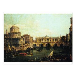 想像の大運河のCapriccio ポストカード