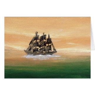 想像の帆船CricketDianeの船 カード