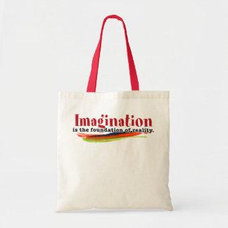 想像は現実の基礎です トートバッグ