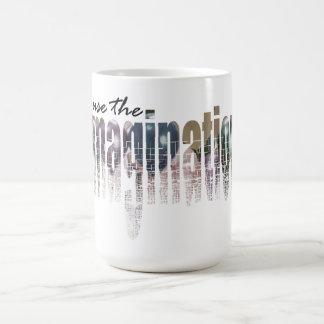 想像を使用して下さい コーヒーマグカップ
