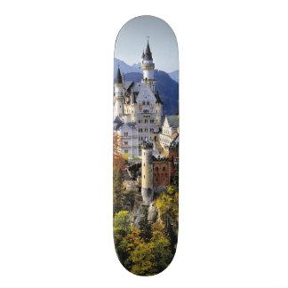 想像力に富むノイシュヴァンシュタイン城は3の1つです スケートボード