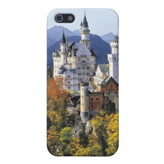 想像力に富むノイシュヴァンシュタイン城は3の1つです iPhone 5 COVER