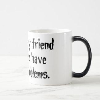 想像友人のマグ モーフィングマグカップ