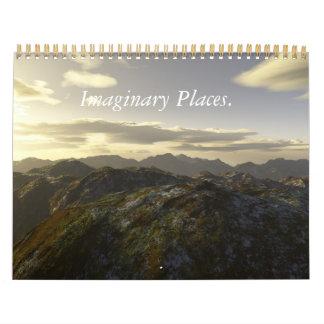 想像場所。 2011 Calander. カレンダー