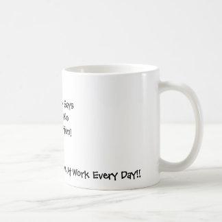 想像無し コーヒーマグカップ