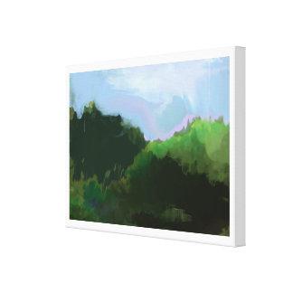 想像緑山 キャンバスプリント
