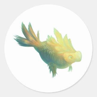 想像魚 ラウンドシール