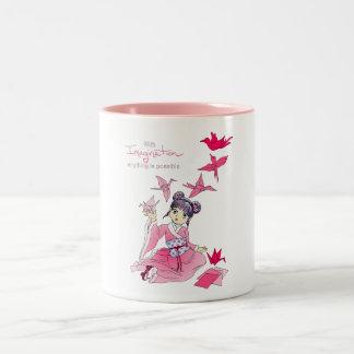 想像 ツートーンマグカップ