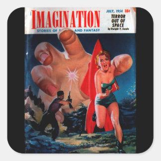 想像- 1954-7_Pulp芸術 スクエアシール