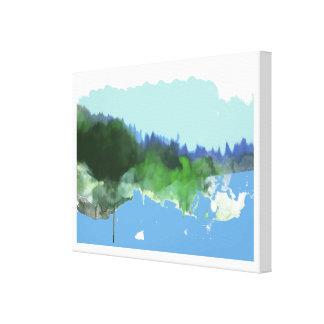 想像digital_artの景色 キャンバスプリント
