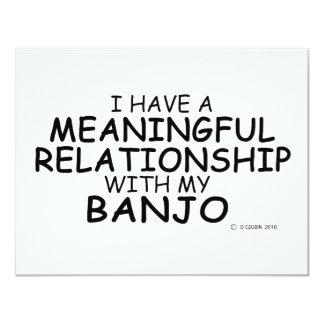 意味を持った人間関係のバンジョー カード
