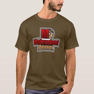 意地が悪いドーナツロゴ Tシャツ