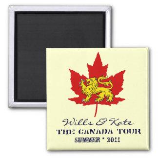 意志およびKateカナダの記念する磁石 マグネット
