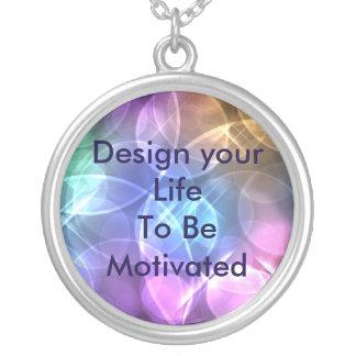 意欲を起こさせたネックレスがあるようにあなたの生命を設計して下さい シルバープレートネックレス