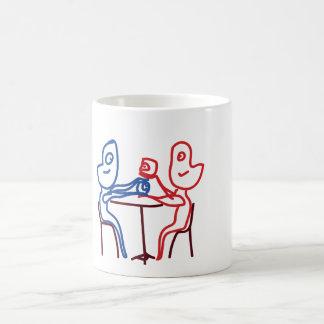 意見の共有 コーヒーマグカップ