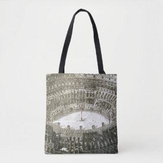 「意見oからのローマのColosseumの空中写真 トートバッグ