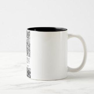 意識してY 11oz 2の調子のマグに、A感覚をなくして下さい ツートーンマグカップ