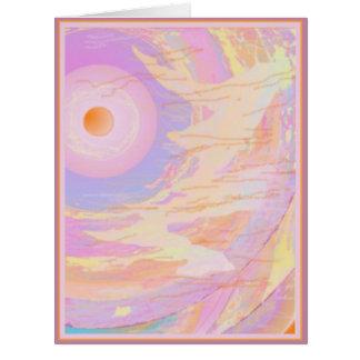 意識の二重芸術の大きいカード- difの前部か背部 カード