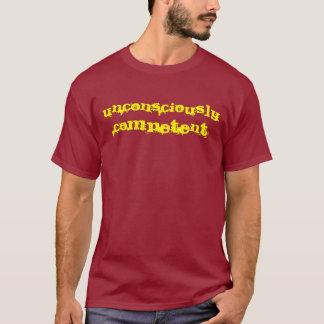 意識不明の能力 Tシャツ