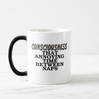 意識: 昼寝間のその迷惑な時間 モーフィングマグカップ