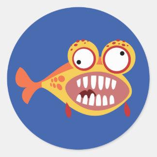 愚かい魚 ラウンドシール