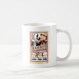 愚かいTUNES™のウサギの乾燥 コーヒーマグカップ