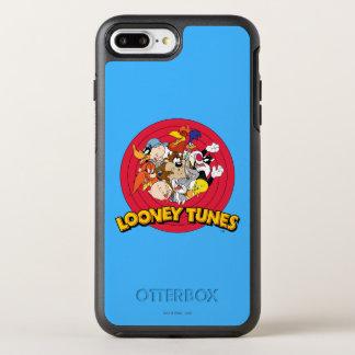 愚かいTUNES™のキャラクターのロゴ オッターボックスシンメトリーiPhone 8 PLUS/7 PLUSケース