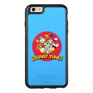 愚かいTUNES™のキャラクターのロゴ オッターボックスiPhone 6/6S PLUSケース