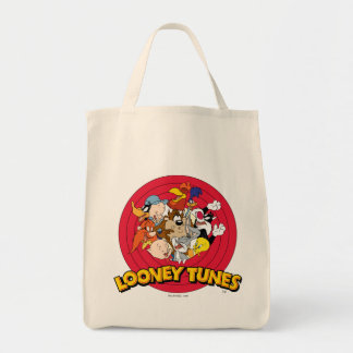 愚かいTUNES™のキャラクターのロゴ トートバッグ