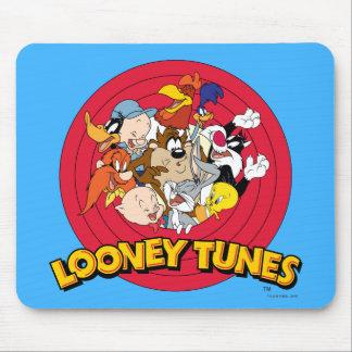 愚かいTUNES™のキャラクターのロゴ マウスパッド